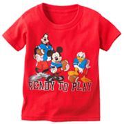 Disney Mickey Mouse and Friends Ready to Play Tee - Toddler