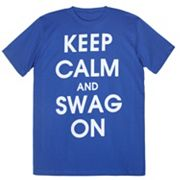 Urban Pipeline Keep Calm And Swag On Tee - Men