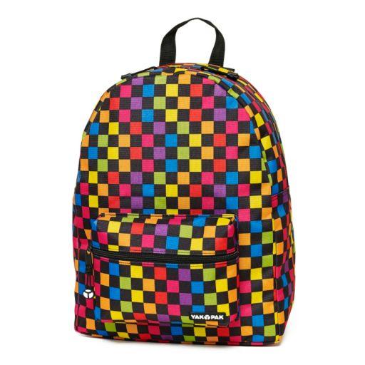 Yak Pak Checkerboard Backpack