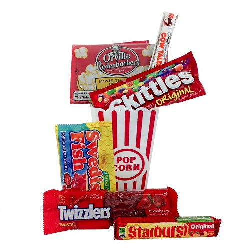 Buy cheap gift baskets - Movie Snack Gift Basket