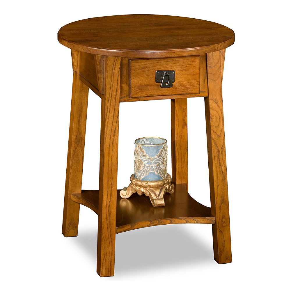 Leick Furniture Round End Table