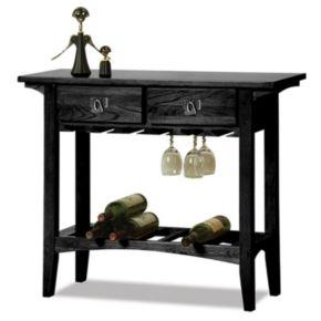 Leick Furniture Mission Wine Cabinet