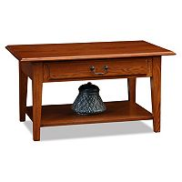 Leick Furniture Shaker 1-Drawer Coffee Table