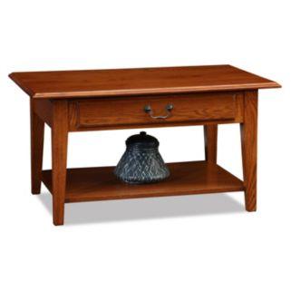 Leick Furniture Shaker 1-Drawer Coffee Table