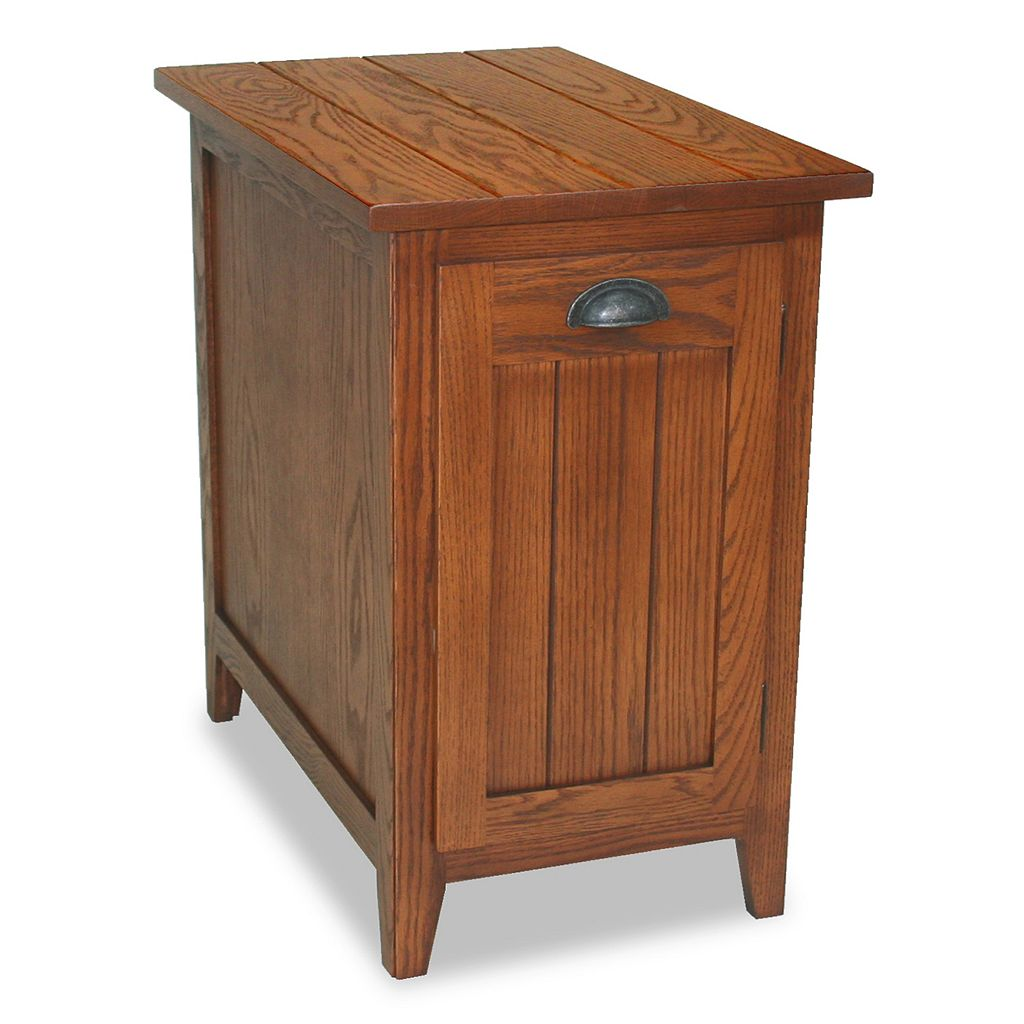 Leick Furniture Bin Cabinet End Table