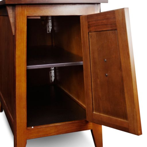 Leick Furniture Mission Cabinet End Table