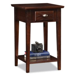 Leick Furniture Traditional Square End Table