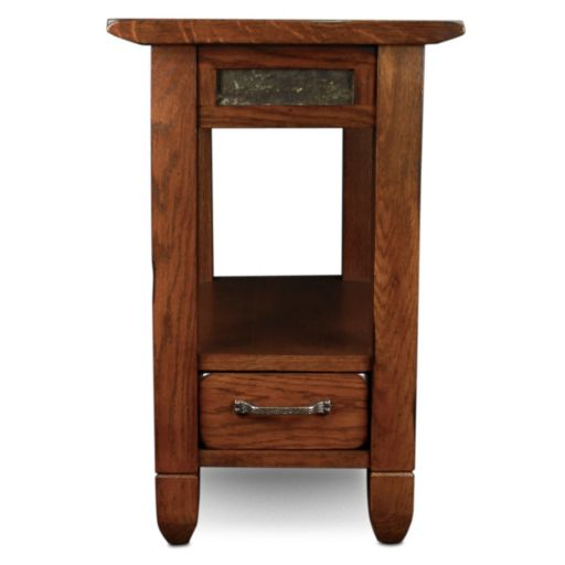Leick Furniture Traditional Narrow End Table