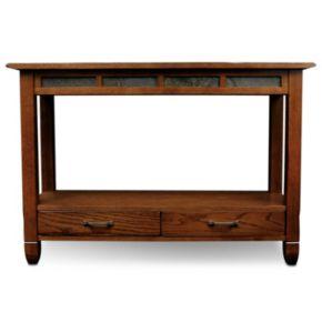 Leick Furniture Traditional Sofa Table
