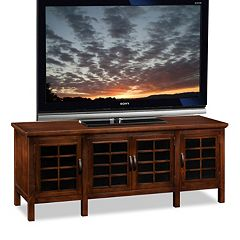 Leick Furniture Grid Cabinet 60 in TV Stand