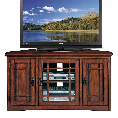 Leick Furniture Mission Corner TV Stand