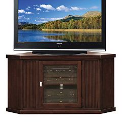 Leick Furniture Espresso Corner TV Stand