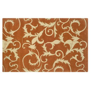 Linon Trio with a Twist Tapestry Rug - 1'10'' x 2'10''