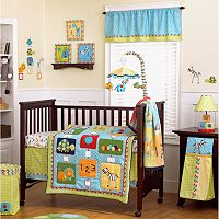 CoCaLo Baby Brooklyn 4 pc Crib Bedding Set