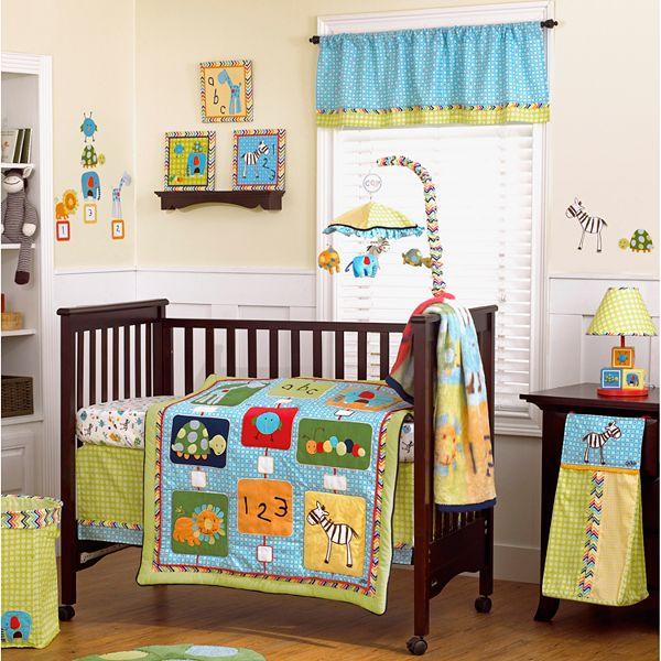 Cocalo Baby Brooklyn 4 Pc Crib Bedding Set, Brooklyn Crib Bedding