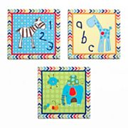 CoCaLo Baby Brooklyn 3-pc. Canvas Wall Art Set