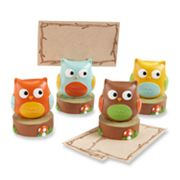 Kate Aspen 4-pk. Whooo's the Cutest Owl Place Card Holders