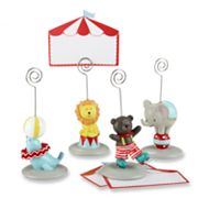 Kate Aspen 4-pk. Big Top Circus Place Card Holders