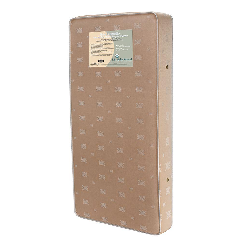 la baby 2 in 1 soy foam crib mattress with natural coconut fiber
