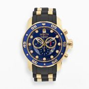 Invicta Gold Tone Stainless Steel Chronograph Watch - 6983 - Men