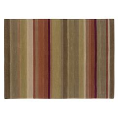 Linon Trio Collection Striped Rug - 5' x 7'