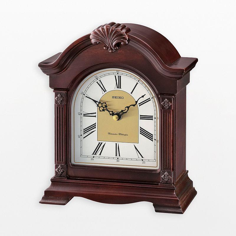 Price Seiko Mens Black Stainless Steel Kinetic Watch Ska625