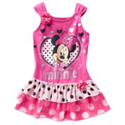 Disney Minnie Mouse Heart Dress - Toddler