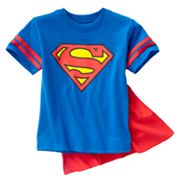 Superman Cape Tee - Toddler