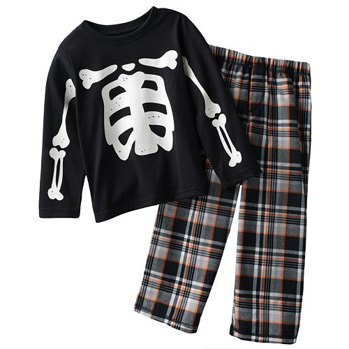 1a1ddeb1c381 Carter s Skeleton Pajama Set - Boys 4-7