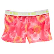 SO Smiley Sun Neon Performance Mesh Shorts - Girls 7-16