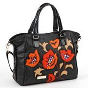 Nicole Lee Viola Patchwork Flowers Shopper