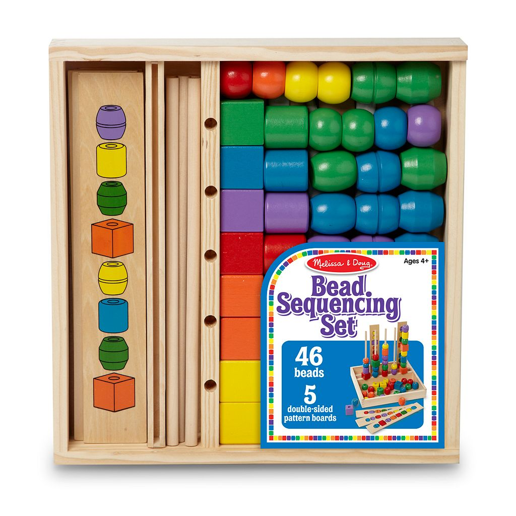 Melissa and Doug Bead Sequencing Set