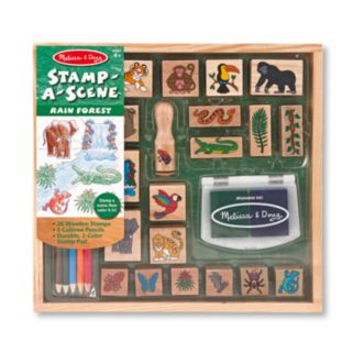 Melissa and Doug Stamp-A-Scene Rain Forest