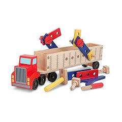 Melissa & Doug Big Rig Truck Building Set