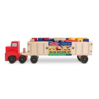 Melissa and Doug Big Rig Truck Building Set