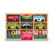 Melissa and Doug Vehicles and Traffic Signs