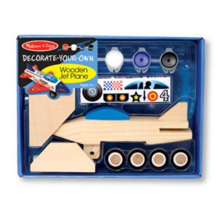 Melissa and Doug Decorate-Your-Own Jet Plane