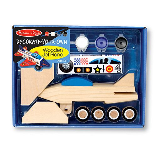 Melissa & Doug Decorate-Your-Own Jet Plane