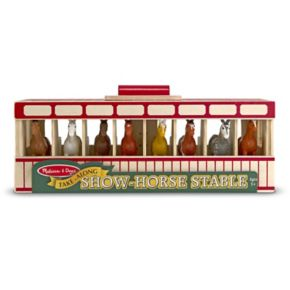 Melissa and Doug Take-Along Show-Horse Stable