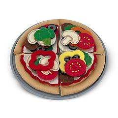 Melissa & Doug Felt Food Pizza Set