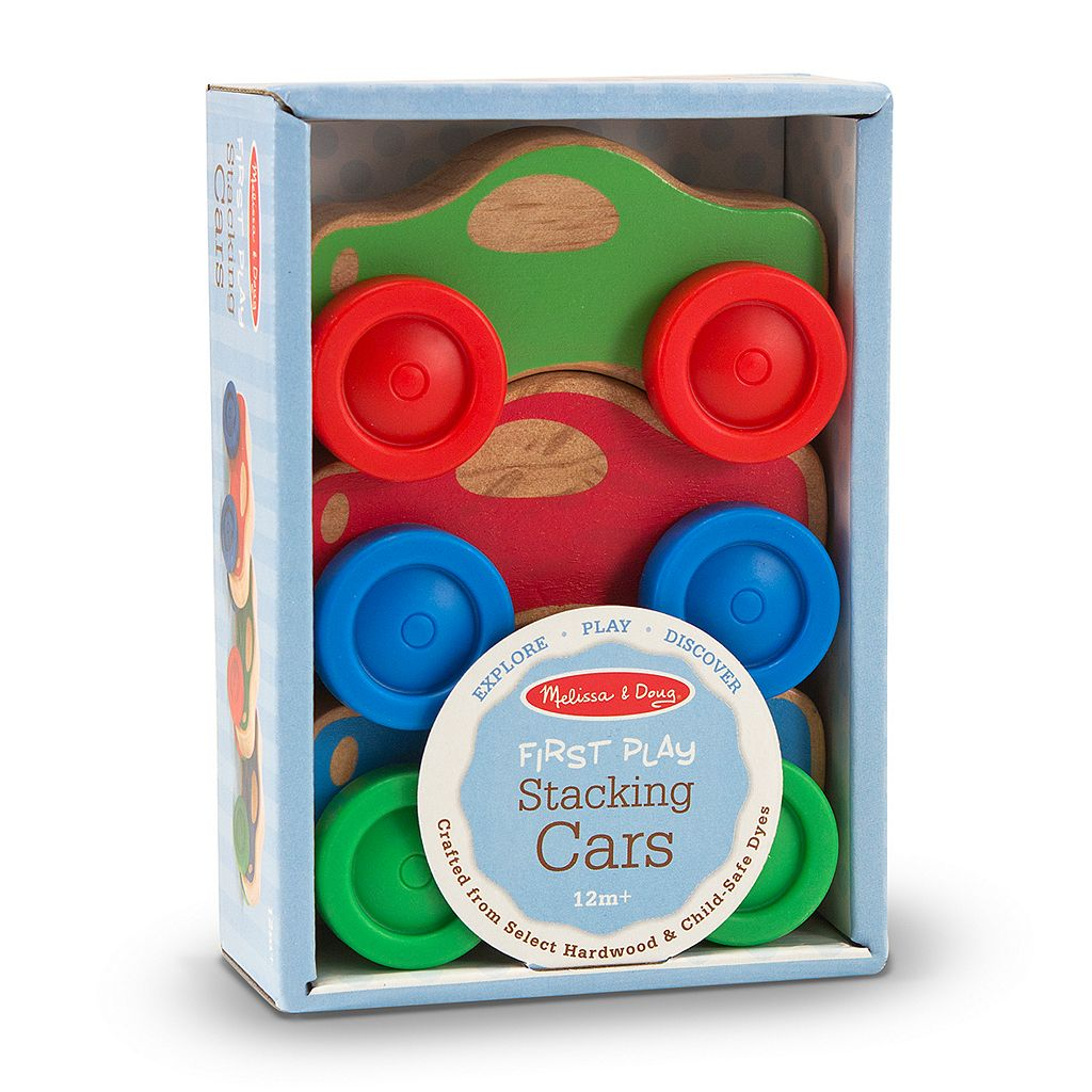Melissa and Doug First Play Stacking Cars