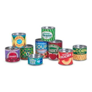 Melissa and Doug Let's Play House Grocery Cans