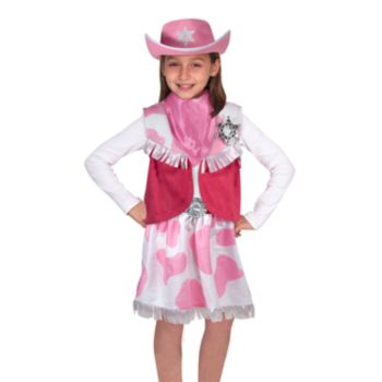 Melissa and Doug Cowgirl Role Play Costume