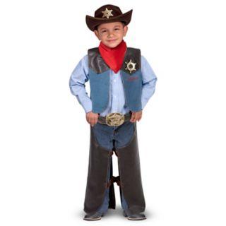 Melissa and Doug Cowboy Role Play Costume