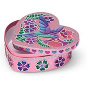 Melissa and Doug Sweetheart Treasure Box Peel and Press Sticker by Number