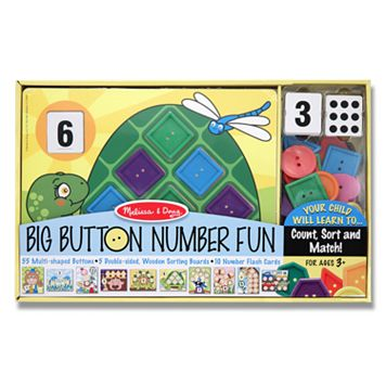 Melissa & Doug Big Button Number Fun