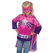 Melissa and Doug Super Hero Girl Role Play Set