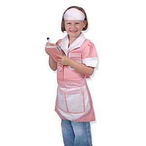 Melissa & Doug Waitress Role Play Costume