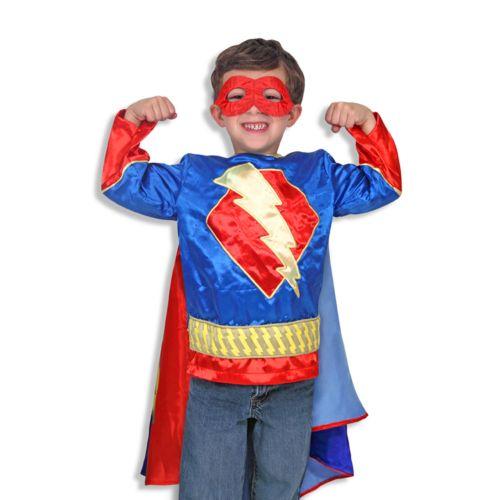Melissa and Doug Super Hero Boy Role Play Costume Set