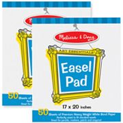 Melissa and Doug 2-pk. Easel Pad Bundle
